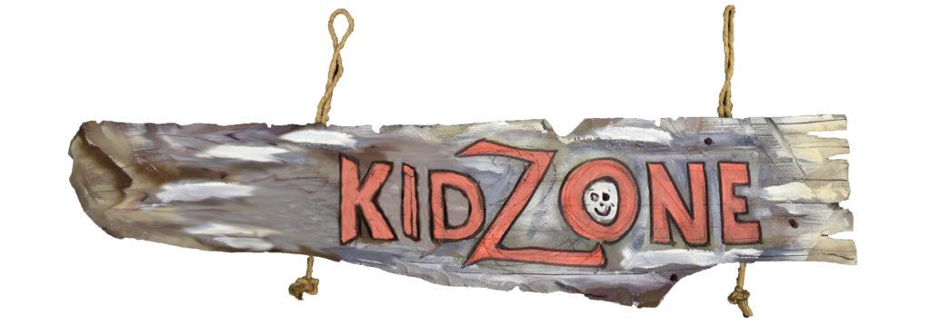 Kid Zone Sign at PCCEK